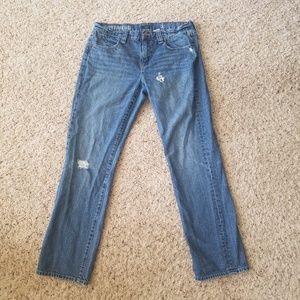 J Crew Womens Size 31 Boyfriend Jeans